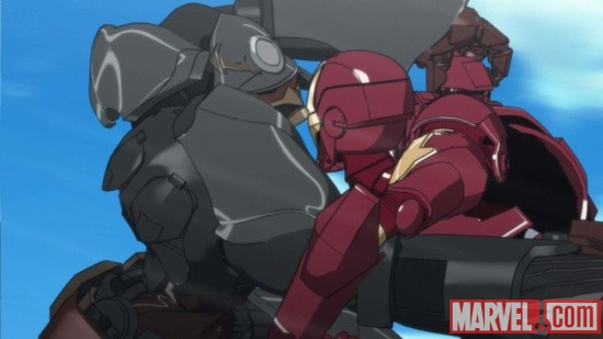 Screenshot from Iron Man episode 12