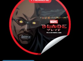 GetGlue's exclusive digital Blade anime premiere sticker