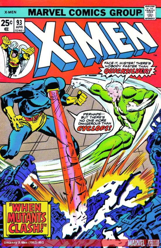 Uncanny X-Men #93