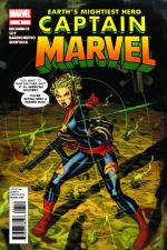 Captain Marvel #4 cover