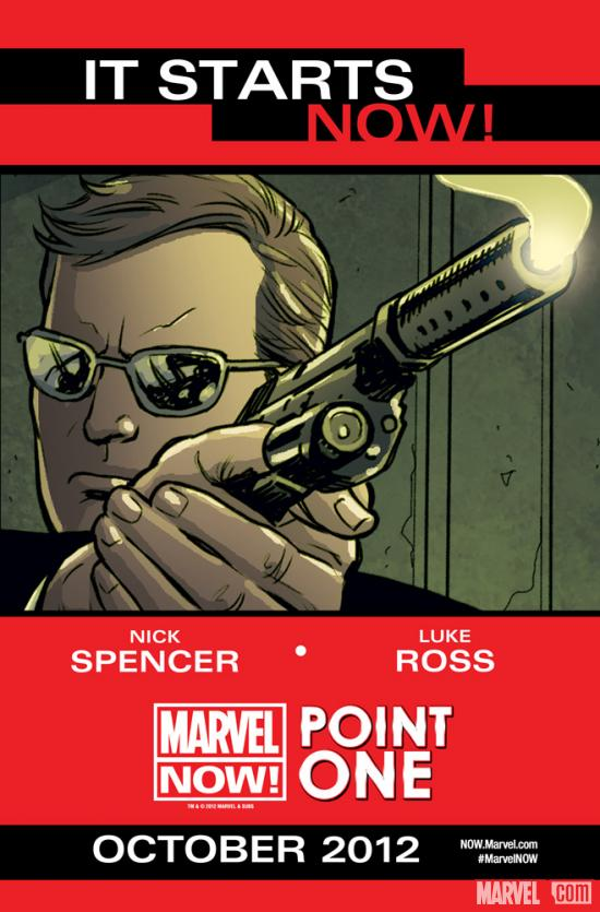 Marvel NOW! Point One teaser by Luke Ross