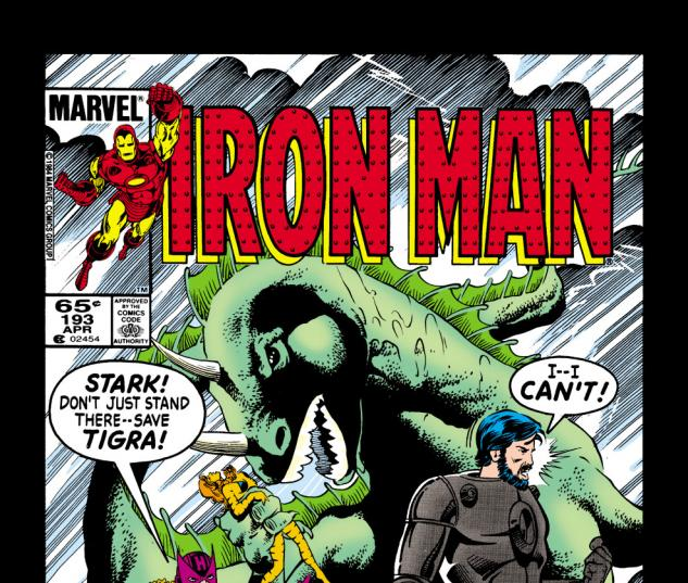 Iron Man (1968) #193 Cover