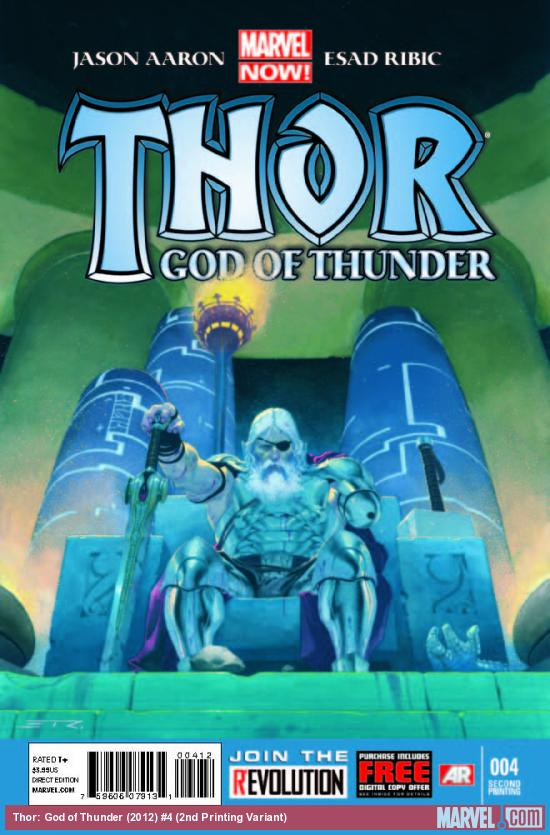 THOR: GOD OF THUNDER 4 2ND PRINTING VARIANT