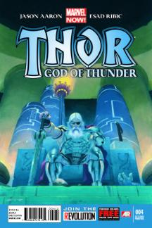 Thor: God of Thunder (2012) #4 (2nd Printing Variant)