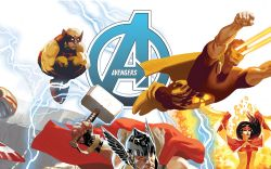 AVENGERS 16 ACUNA AVENGERS 50TH ANNIVERSARY VARIANT (INF, WITH DIGITAL CODE)