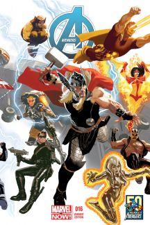 Avengers (2012) #16 (Acuna Avengers 50th Anniversary Variant)