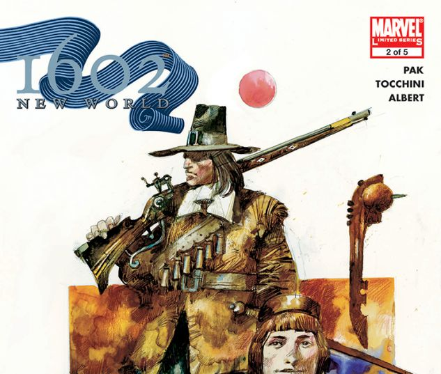 Marvel 1602: New World (2005) #2