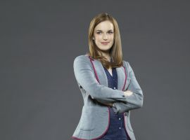 Elizabeth Henstridge stars as Agent Jemma Simmons in Marvel's Agents of S.H.I.E.L.D.
