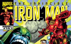 Iron Man (1998) #14 Cover