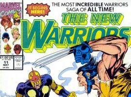 New Warriors (1990) #11 cover by Mark Bagley