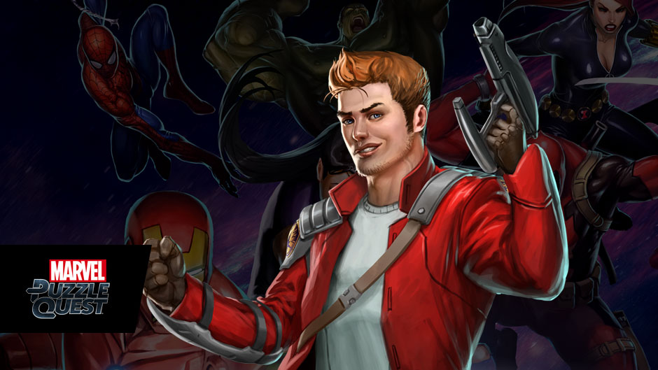 Star-Lord in Marvel Puzzle Quest