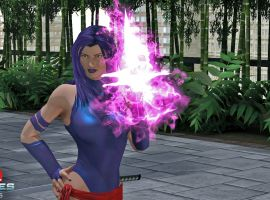 Psylocke in Marvel Heroes 2015