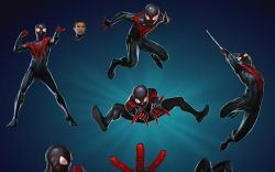Miles Morales in Marvel Puzzle Quest