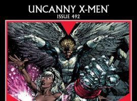 Uncanny X-MMen #492 Finch Cover