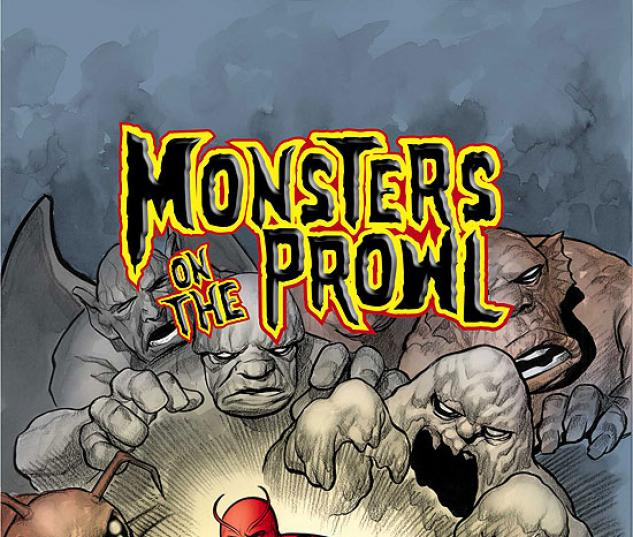 MARVEL MONSTERS (2007) #4 COVER