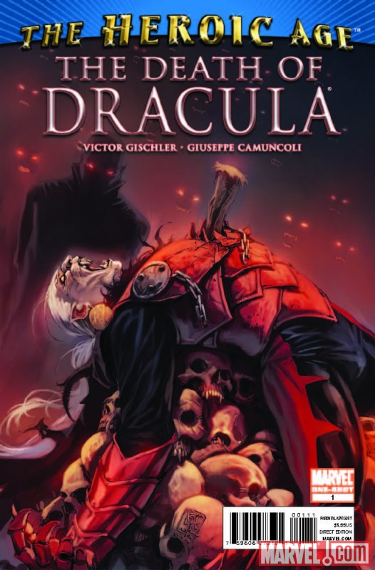 DEATH OF DRACULA #1 cover