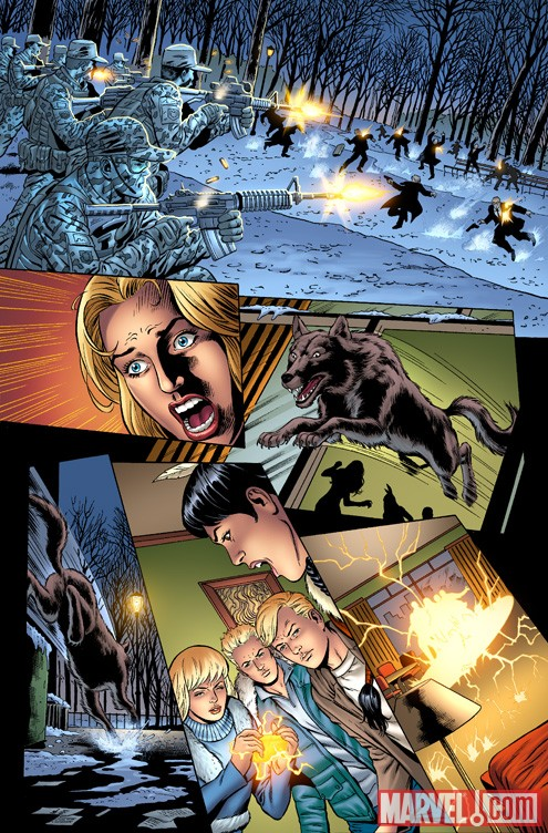 NEW MUTANTS FOREVER #1 preview art by Al Rio 3