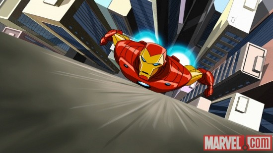 Iron Man from The Avengers: Earth's Mightiest Heroes!
