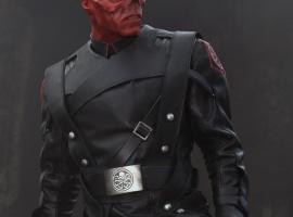 Hugo Weaving stars as the Red Skull in Captain America: The First Avenger