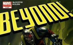 Beyond! #3 cover by Scott Kolins