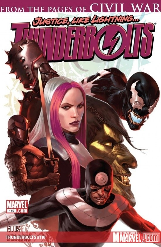 Marvel App: Get Thunderbolts Issues for 99 Cents