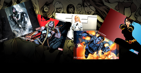 5 Wallpapers Featuring Marvel Heroines