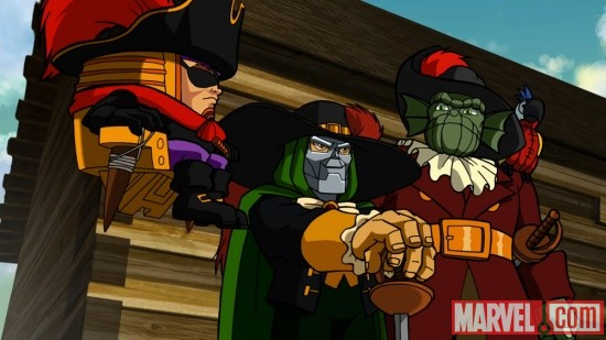 Screenshot from The Super Hero Squad Show Season 2, Ep. 19