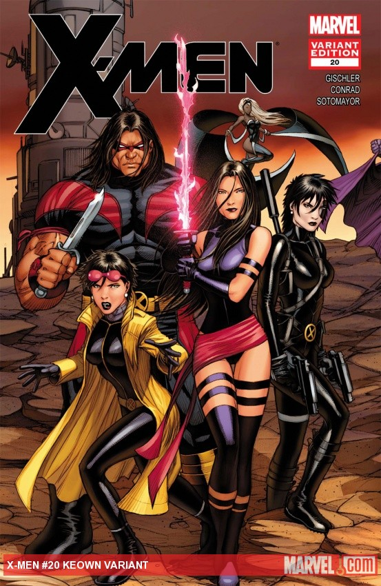 X-Men (2010) #20, Keown Variant