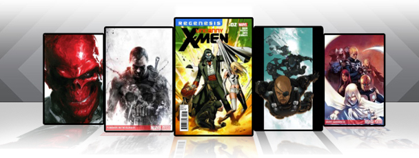 Marvel Comics App: Latest Titles 11/30/11