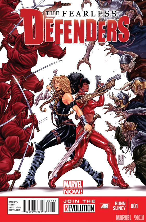 Fearless Defenders #1 cover by Mark Brooks