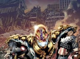 Age of Ultron #1 cover by Bryan Hitch