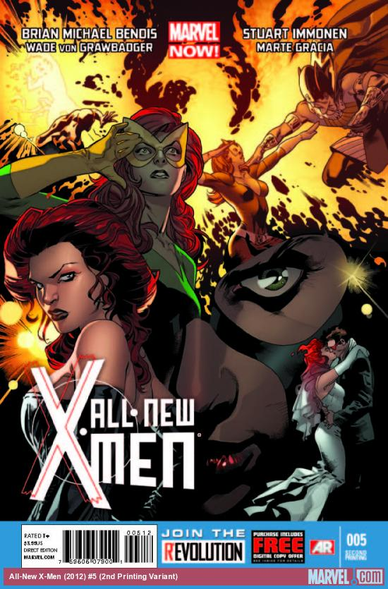 ALL-NEW X-MEN 5 2ND PRINTING VARIANT