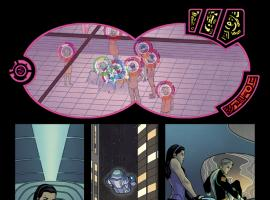 Young Avengers (2013) #4 preview art by Jamie McKelvie