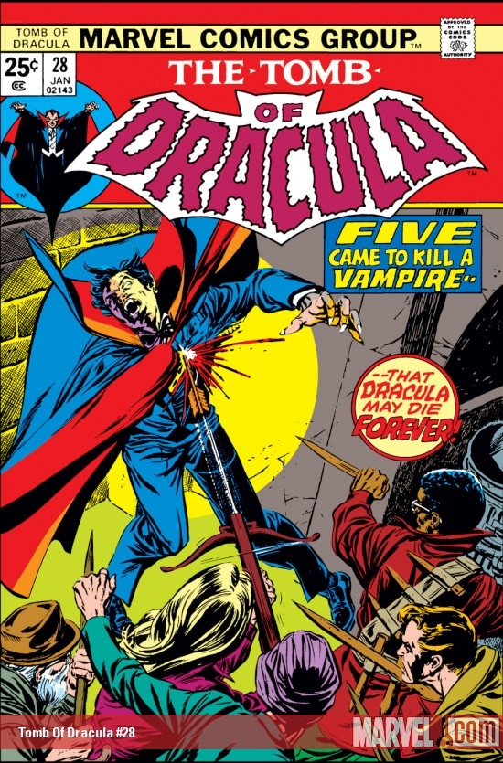 Tomb Of Dracula #28