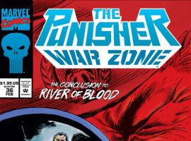 THE PUNISHER: WAR ZONE #36