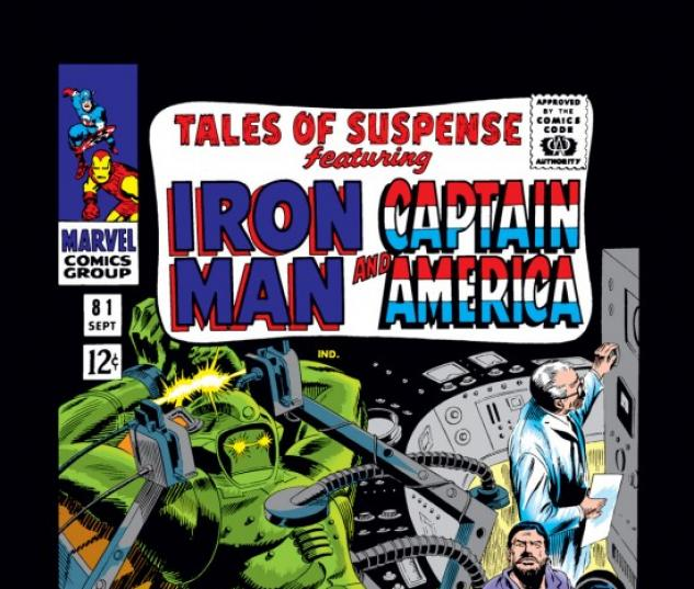 TALES OF SUSPENSE #81