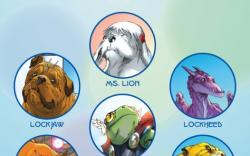 LOCKJAW AND THE PET AVENGERS UNLEASHED #3 recap page