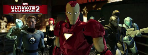 Image Featuring Iron Man, Mr. Fantastic