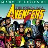 MARVEL LEGENDS: AVENGERS - THE KORVAC SAGA cover by George Perez