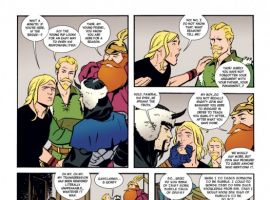 Thor: The Mighty Avenger #4 preview art by Chris Samnee