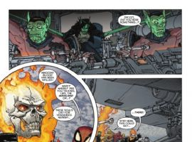 SPIDER-MAN/FANTASTIC FOUR #3 preview page by Marco Alberti