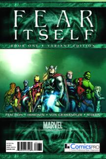 Fear Itself (2010) #1 (Comicspro Variant)