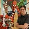 Artist Todd Nauck at Willaims-Sonoma's 'Marvel'ous Cookie Decorating Event