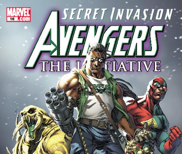Avengers: The Initiative (2007) #16