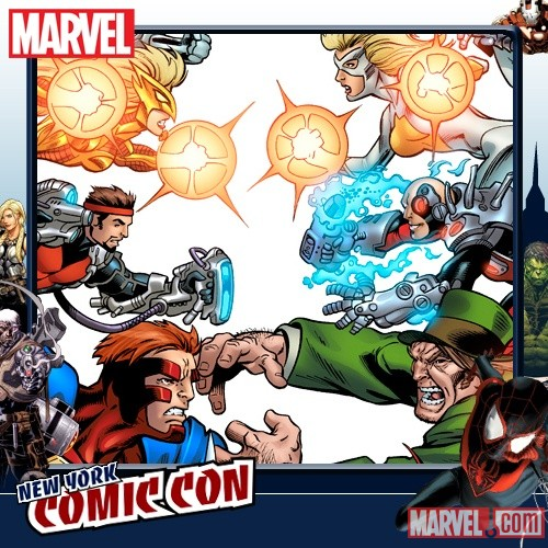 NYCC 2011: Thunderbolts vs. Thunderbolts