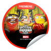 Check-in to The Super Hero Squad Show to Earn this Sticker!