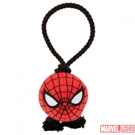 Spider-Man Rope Dog Tug Toy by Fetch available at PetSmart