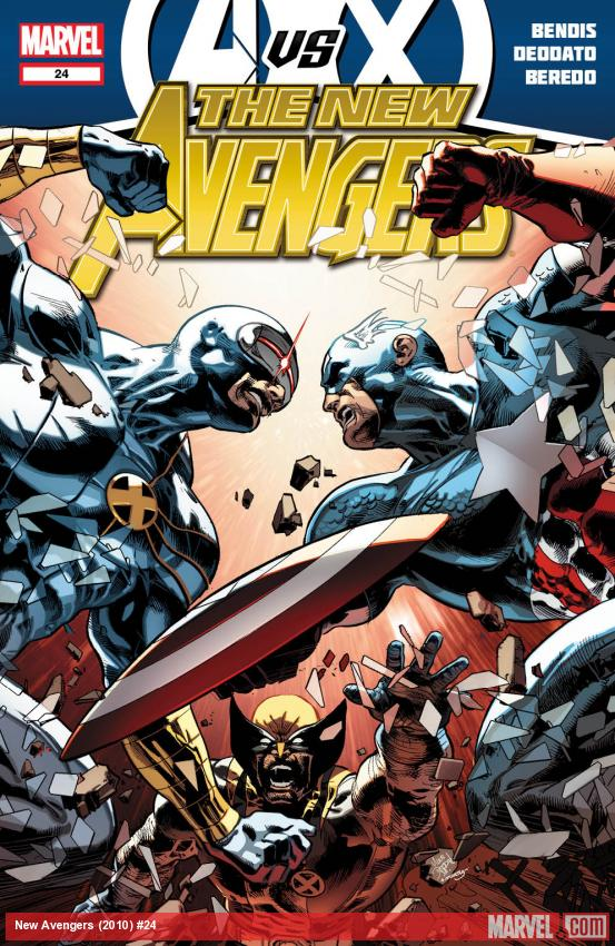 New Avengers #24 cover art by Mike Deodato