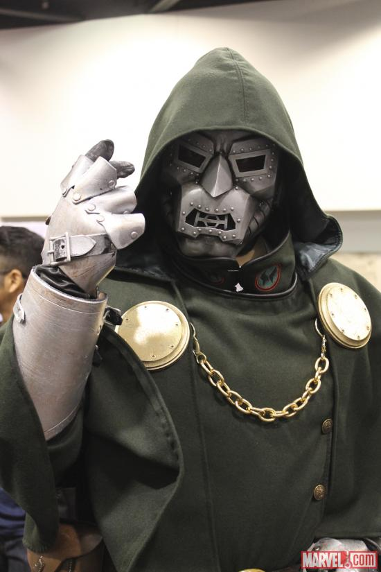 Dr. Doom cosplayer at Wondercon 2012
