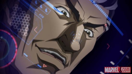 Вышли в свет DVD с аниме Iron Man и X-Men